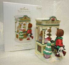 Hallmark Keepsake Ornament Club Christmas Window 2010 Patisserie #8 Series