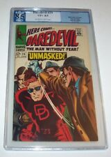 "Daredevil #29 - Marvel 1967 Silver Age issue - PGX VF+ 8.5 - ""Unmasked!"""
