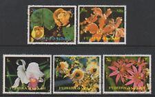 Fujeira - 1972, Flowers set - CTO
