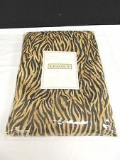 Legacy Home Brown Zebra Full Bed Skirt  NIP  Made in USA