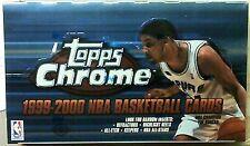 1999-00 Topps Chrome Basketball Sealed Hobby Box Davis Odom Rk's? Auto?