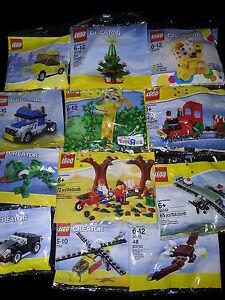 Brand New Lego Promo Sets - Creator - Classic - Some Very Rare - Lego Baggies