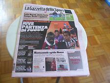 GAZZETTA DELLO SPORT 30/07/2013 CALENDARIO SERIA A 2013 2014 JUVE ALONSO ZUNIGA