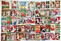 (125+) MIKE TROUT Prizm Refractor Gold Parallel Insert Canvas SP #'d Card LOT