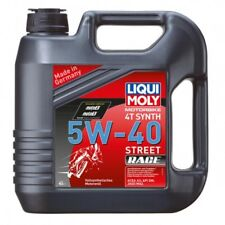 Engine oil motorbike 4t 5w-40 fully synthetic 205 liter - Liqui moly 2594