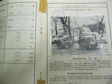 * MAN 520 L 1 1959 Schnauzer LKW  Österreichischer Typenschein SAMMLER *