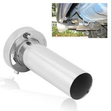 Universal Adjustable 4 inch Round Exhaust Muffler Tip Removable Sound Silencer