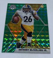Anthony McFarland Jr. 2020 Panini Mosaic #237 Green Prizm Rookie