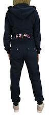 Juicy Couture Robertson Jacket Zuma Pant Tracksuit Regal Navy Small Black Label