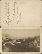 France, Normandie, la vallée d'Etrétat Vintage CDV albumen carte de visite