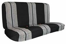 Leader Accessories Saddle Blanket Black Full Size Pickup Trucks Bench Seat Cover