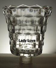 Home Interior Lady Love Clear Votive Cup w/ rubber grommet