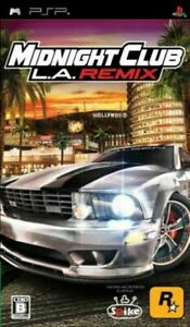 PSP Midnight Club L.A. Remix. New and Sealed