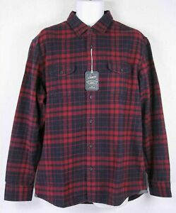 Grayers Heritage Flannel Button Down Mens SHIRT  NWT
