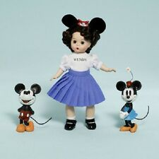 """Mouseketeer 8"""" Wendy with Mickey and Minnie Disney Collection Doll Figure NEW"""