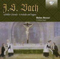 MATTEO MESSORI - J.S.BACH: SCHÜBLER CHORALE 2 CD NEU BACH,JOHANN SEBASTIAN