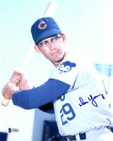 DON YOUNG SIGNED AUTOGRAPHED 8x10 PHOTO CHICAGO CUBS BECKETT BAS