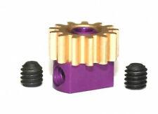 Piñon extraible 13z x 7.5mm extraible pinion brass Sloting Plus REF.SP085713
