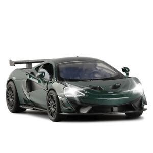 1:32 McLaren 570S GT Metal Diescast Model Cars Toys Sound&Light Collection Gift