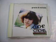 GRAZIA DI MICHELE - CLICHE' - CD LIKE NEW CONDITION 1999