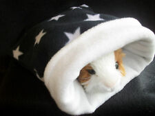COZY PETS  guinea pig bed snuggle pouch sleeping bag sack cuddle cup pouch lge