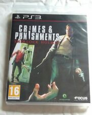 Crimes & Punishments Sherlock Holmes PS3 NEW UK PAL for Sony Playstation 3 RARE