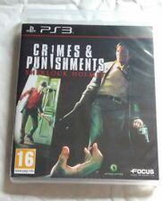 Crimes & Punishments Sherlock Holmes PS3 NEW UK PAL for Sony Playstation 3 RARE