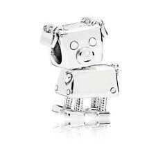 Robot dog 1pcs  European Charm Beads Fit 925 silver Bracelet Necklace Chain