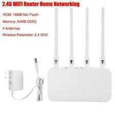 Home Network Equipment 2.4G Wifi Router 64Mb Ddr2 Memory 4A 4Antenna for Xiaomi