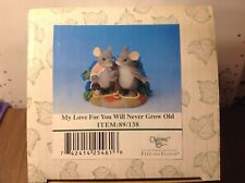 """Charming Tails """"My Love For You Will Never Grow Old"""" Item # 89/138"""