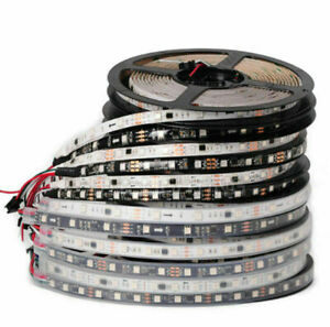 WS2811 5050 RGB LED Strip 1m/5M 150 300Leds Addressable (1IC 3leds ) DC12V