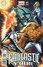 FANTASTIC FOUR # 1 VARIANT Bagley 2013 Marvel Now!
