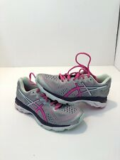 ASICS Gel Kayano 23 Silver Pink Mesh Lace Up Running Sneaker Shoes Womens Size 6
