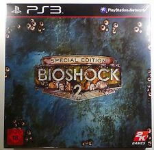 BioShock 2 Special Collector 's Edition ps3 Playstaion 3 nuevo sealed soldada