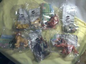 Burger King 1994 Disney Lion King Complete Set 7 Figures Simba Timon Nala Pumba