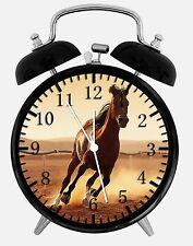"Beautiful Horse Alarm Desk Clock 3.75"" Home or Office Decor E360 Nice For Gift"