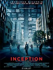 Affiche 120x160cm INCEPTION 2010 Christopher Nolan - Leonardo DiCaprio NEUVE