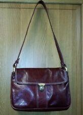 Vintage Jacobs Fine Leather Oxblood /Brown Shoulder Bag