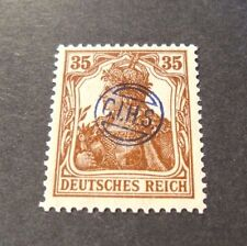 "GERMANIA,GERMANY D.REICH PLEBISCITO 1920 OVP "" C.I.H.S."" 35 c. MH Signed"