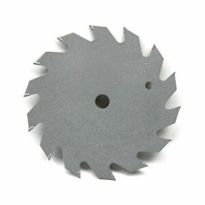 140mm x 12.7mm 14T TCT Circular Saw Blade for Wood. Grey None-Stick Coating