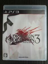 USED PS3 Drakengard Drag On Dragoon 3 SQUARE ENIX Free Shipping Japan Import