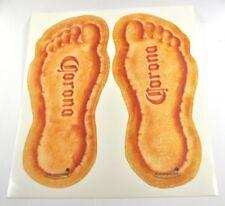 Große Corona Extra Bier USA Aufkleber Füße Strand Fußabdruck Decals Sticker