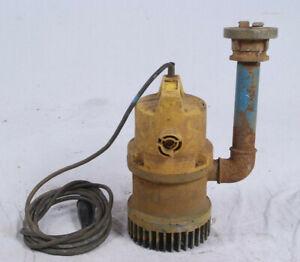 Jung U 6 K Niro Tauchpumpe Drainagepumpe Schmutzwasserpumpe 17m³/h Höhe 9m Pumpe