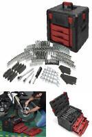 Mechanic Tool Set 320 Piece Storage Case Repair Tools Sockets Ratchets Mens Work