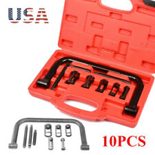 Valve Spring Clamps Compressor 10 PCS Cars Motorcycle Tool Bit Set BS
