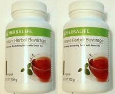 2 x Herbalife instant Herbal Beverage Tea Original Peach Lemon New AUSSIE Stock