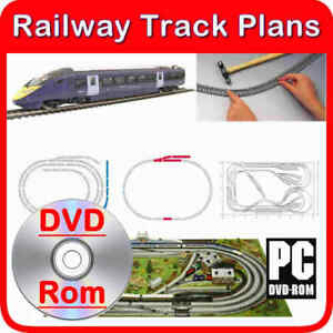 Hornby Track Plans OO gauge 00 scale model railway 130 layouts guides scenery