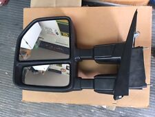 2015-2017 FORD F150 MANUAL DRIVER SIDE TOW MIRROR - OEM