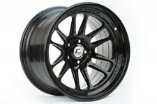 "18"" 18x9.5 ET+10 Cosmis Racing XT-206R Black Wheels SET 5x4.5 Lancer EVO"