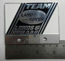 VINTAGE LAND ROVER CAR badge DEFENDER FOR SALE TEAM CLASSIC series 1 2 3 a LANCS